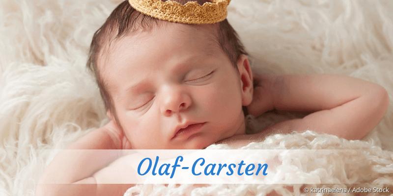 Name Olaf-Carsten als Bild