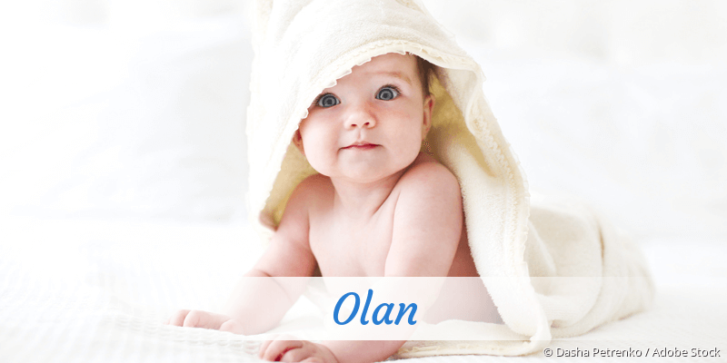 Name Olan als Bild
