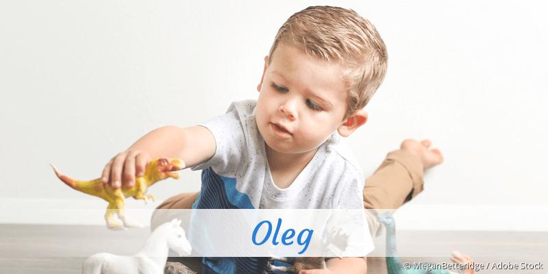 Name Oleg als Bild
