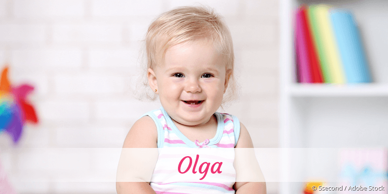 Name Olga als Bild