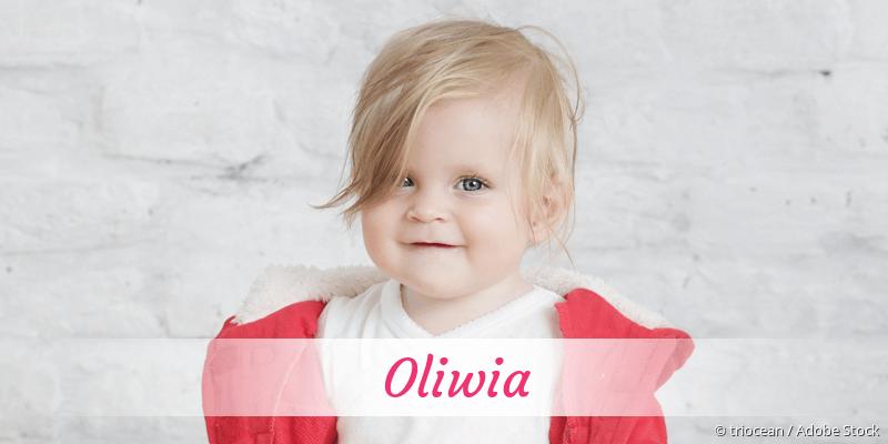 Name Oliwia als Bild