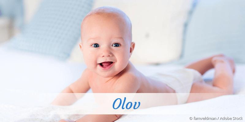Name Olov als Bild