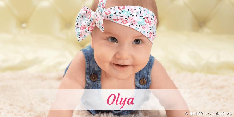 Name Olya als Bild