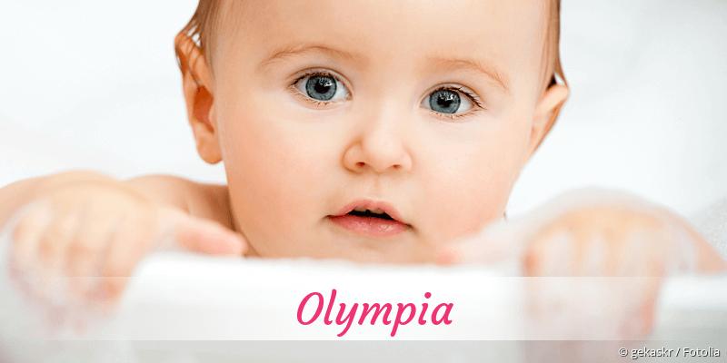 Name Olympia als Bild