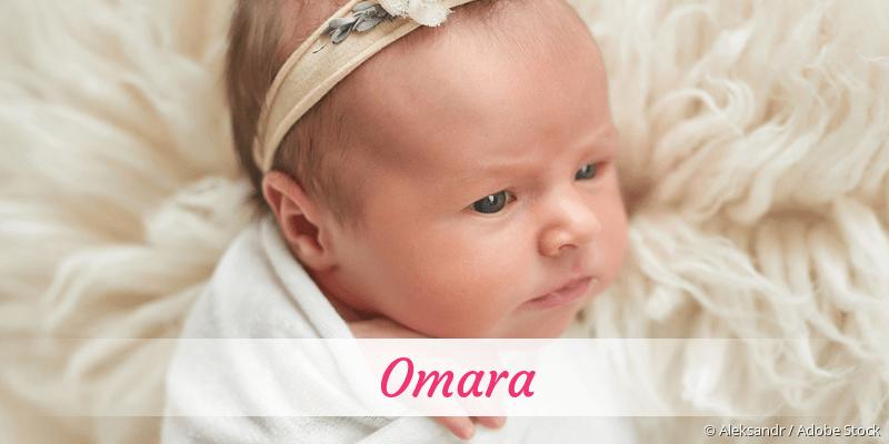Name Omara als Bild