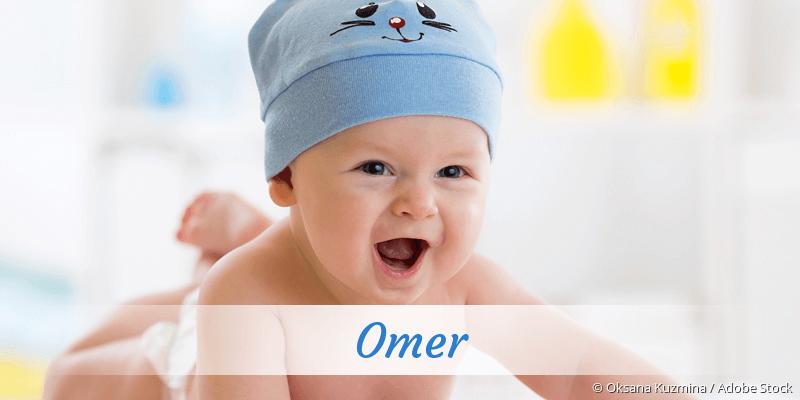 Name Omer als Bild