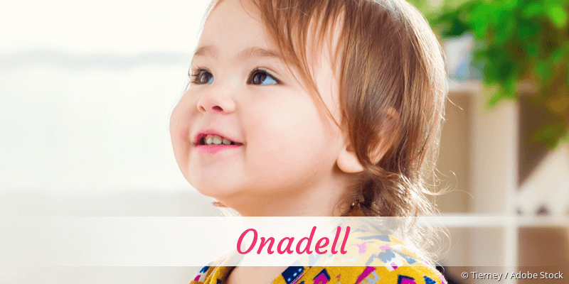 Name Onadell als Bild