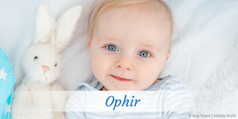 Name Ophir als Bild