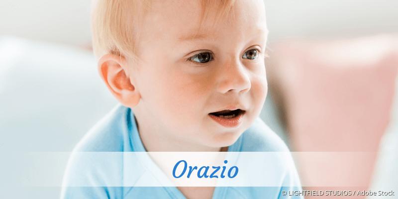 Name Orazio als Bild