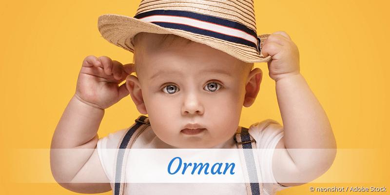 Name Orman als Bild