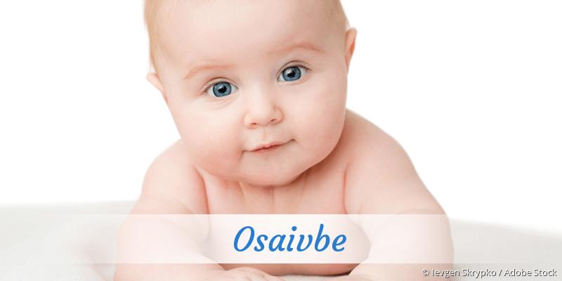 Name Osaivbe als Bild
