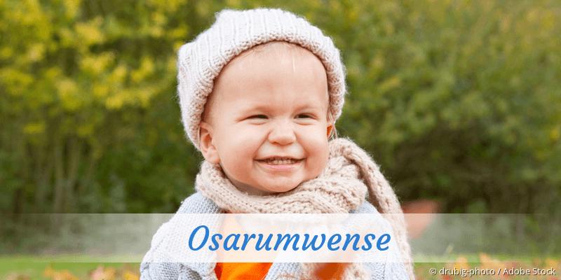 Name Osarumwense als Bild