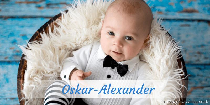 Name Oskar-Alexander als Bild