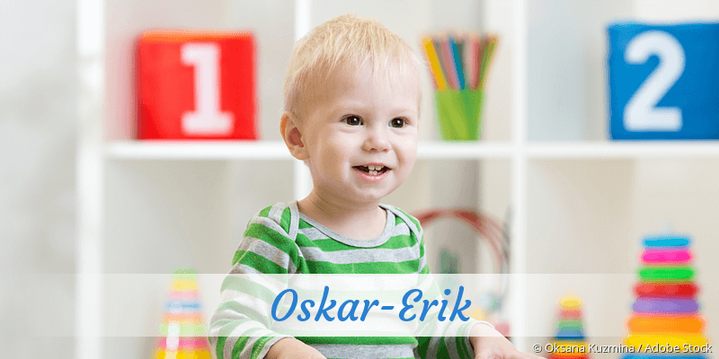 Name Oskar-Erik als Bild