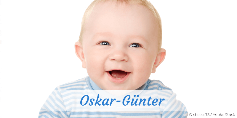 Name Oskar-Günter als Bild