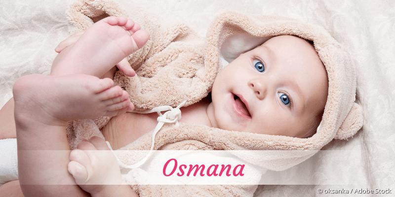 Name Osmana als Bild
