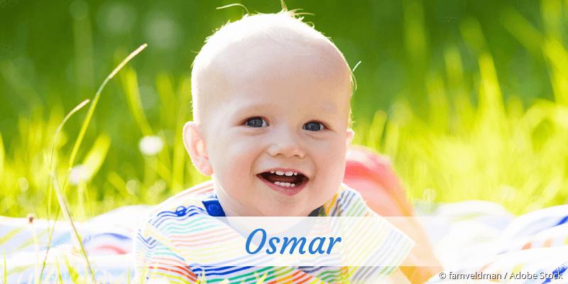 Name Osmar als Bild