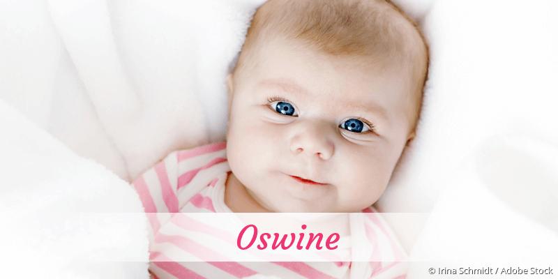 Name Oswine als Bild