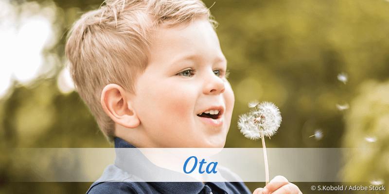 Name Ota als Bild