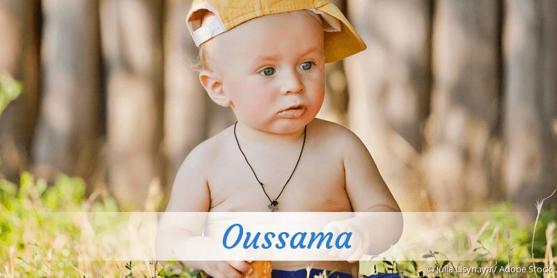 Name Oussama als Bild