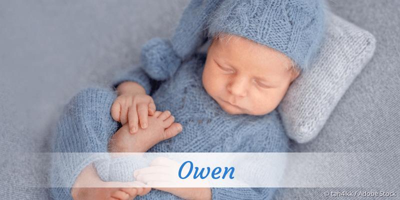 Name Owen als Bild