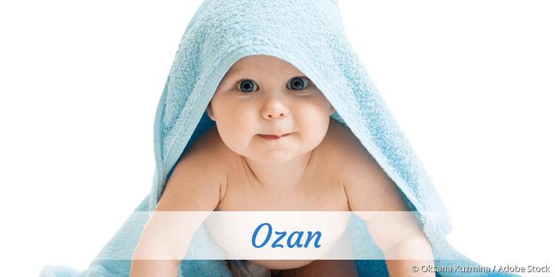 Name Ozan als Bild