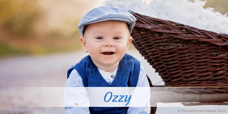 Name Ozzy als Bild