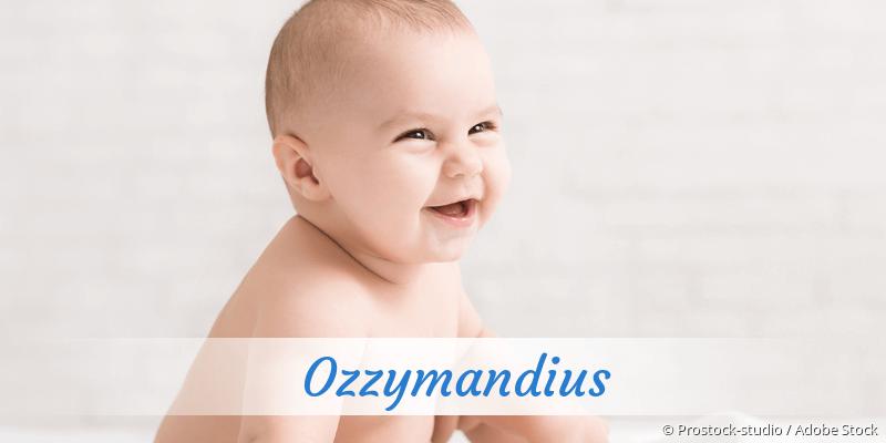 Name Ozzymandius als Bild