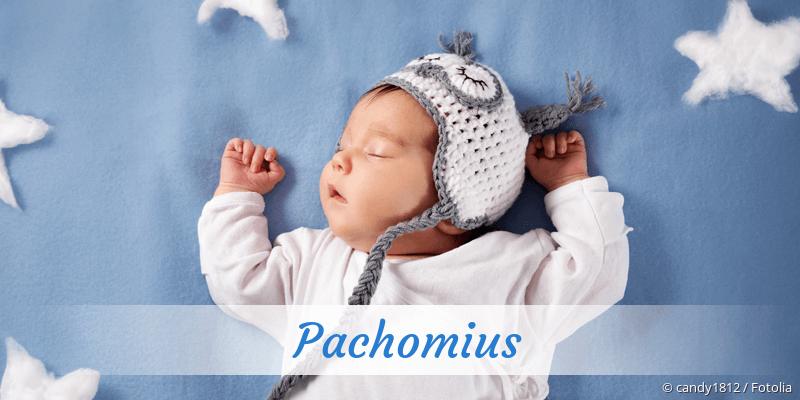 Name Pachomius als Bild