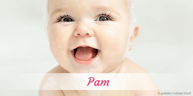 Name Pam als Bild