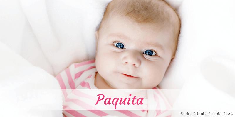 Name Paquita als Bild