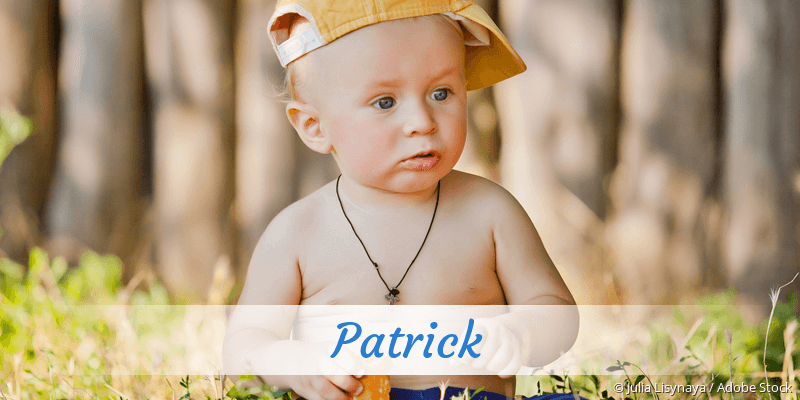 Name Patrick als Bild