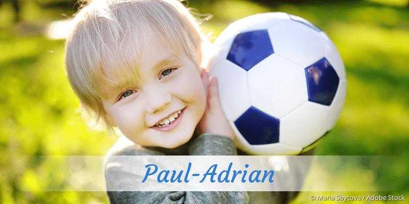 Name Paul-Adrian als Bild
