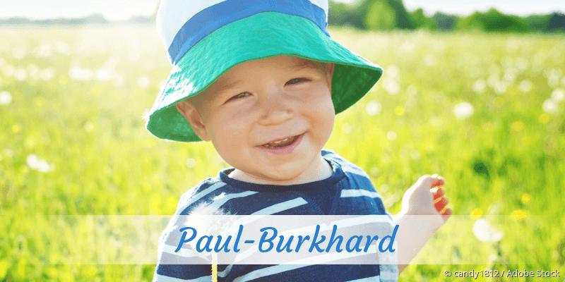 Name Paul-Burkhard als Bild