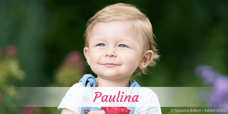 Name Paulina als Bild