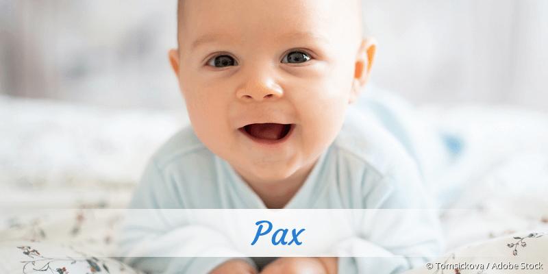 Name Pax als Bild