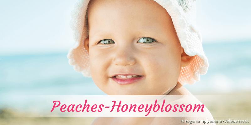 Name Peaches-Honeyblossom als Bild