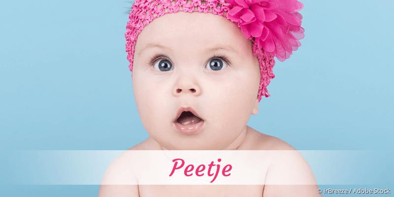 Name Peetje als Bild