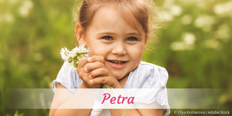 Name Petra als Bild