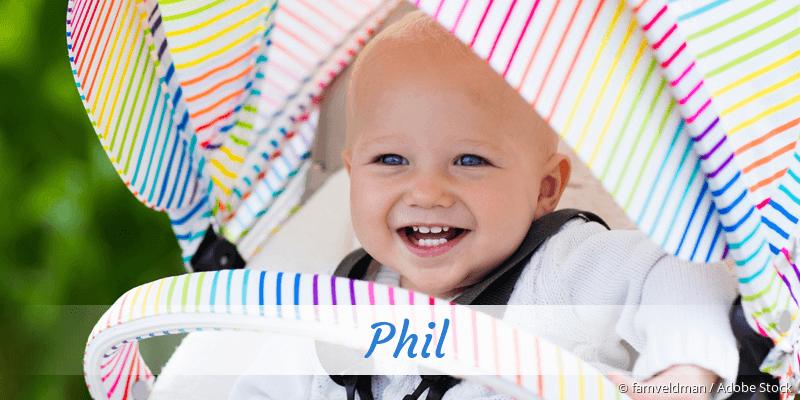 Name Phil als Bild