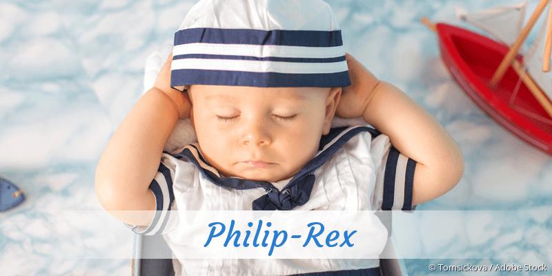 Name Philip-Rex als Bild