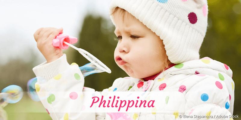 Name Philippina als Bild