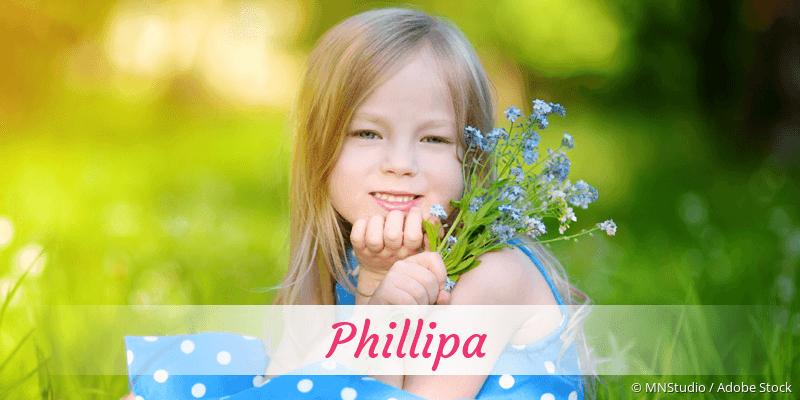 Name Phillipa als Bild