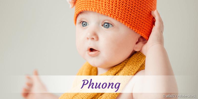 Name Phuong als Bild