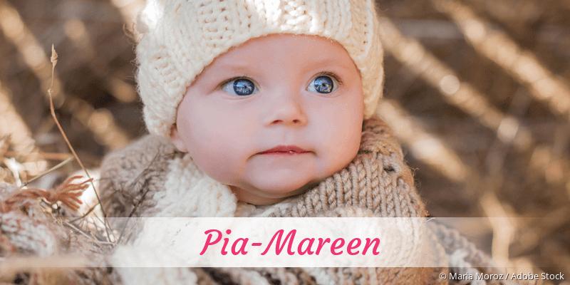 Name Pia-Mareen als Bild