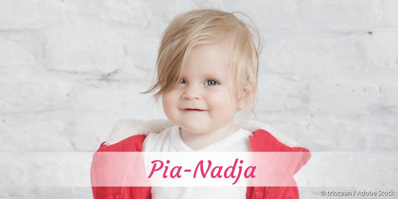 Name Pia-Nadja als Bild