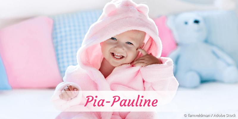 Name Pia-Pauline als Bild