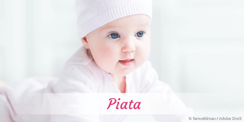 Name Piata als Bild