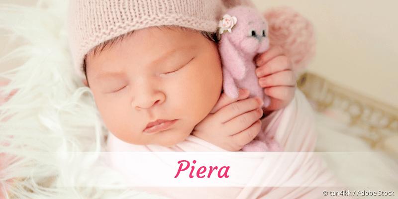 Name Piera als Bild