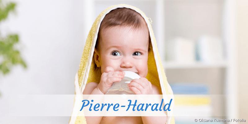 Name Pierre-Harald als Bild